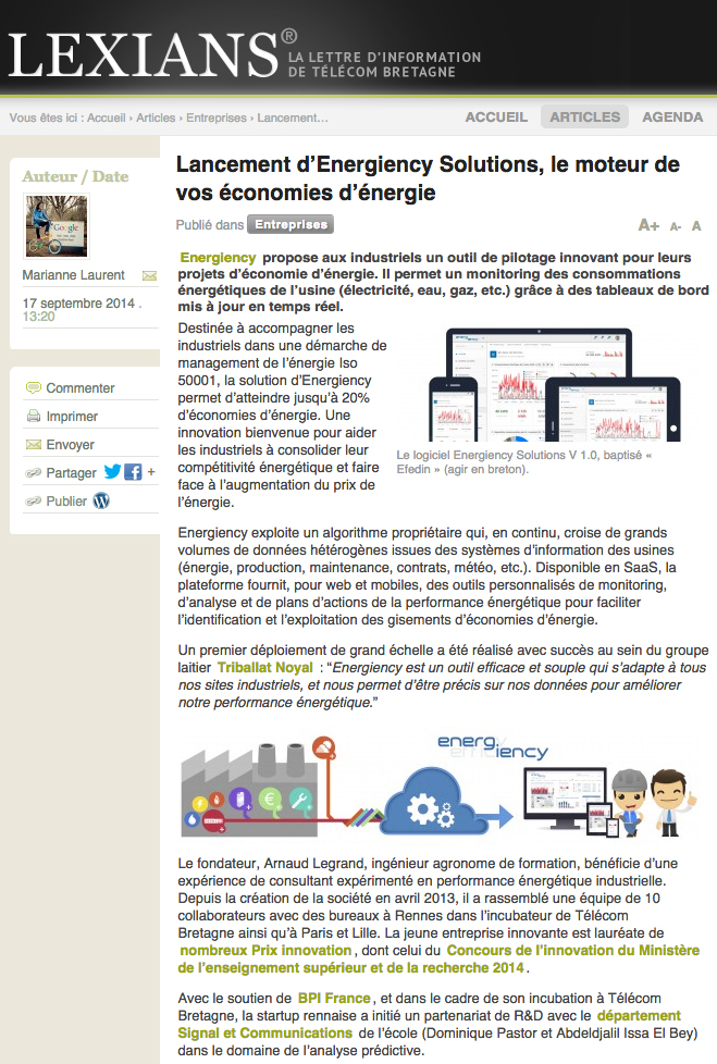 Lexians Energiency